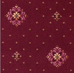 Regina Collection Burgundy Rosette 31/38497